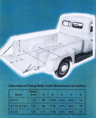 restoring cornelia truck facts 1951 International Pickup Truck engine international