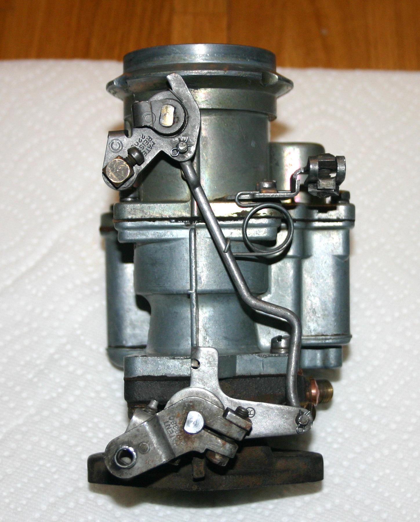 restoring cornelia truck facts carter yf carburetor rh hansenwebdesign com carter yf carburetor manual choke Carter YF Metering Rod Adjustment
