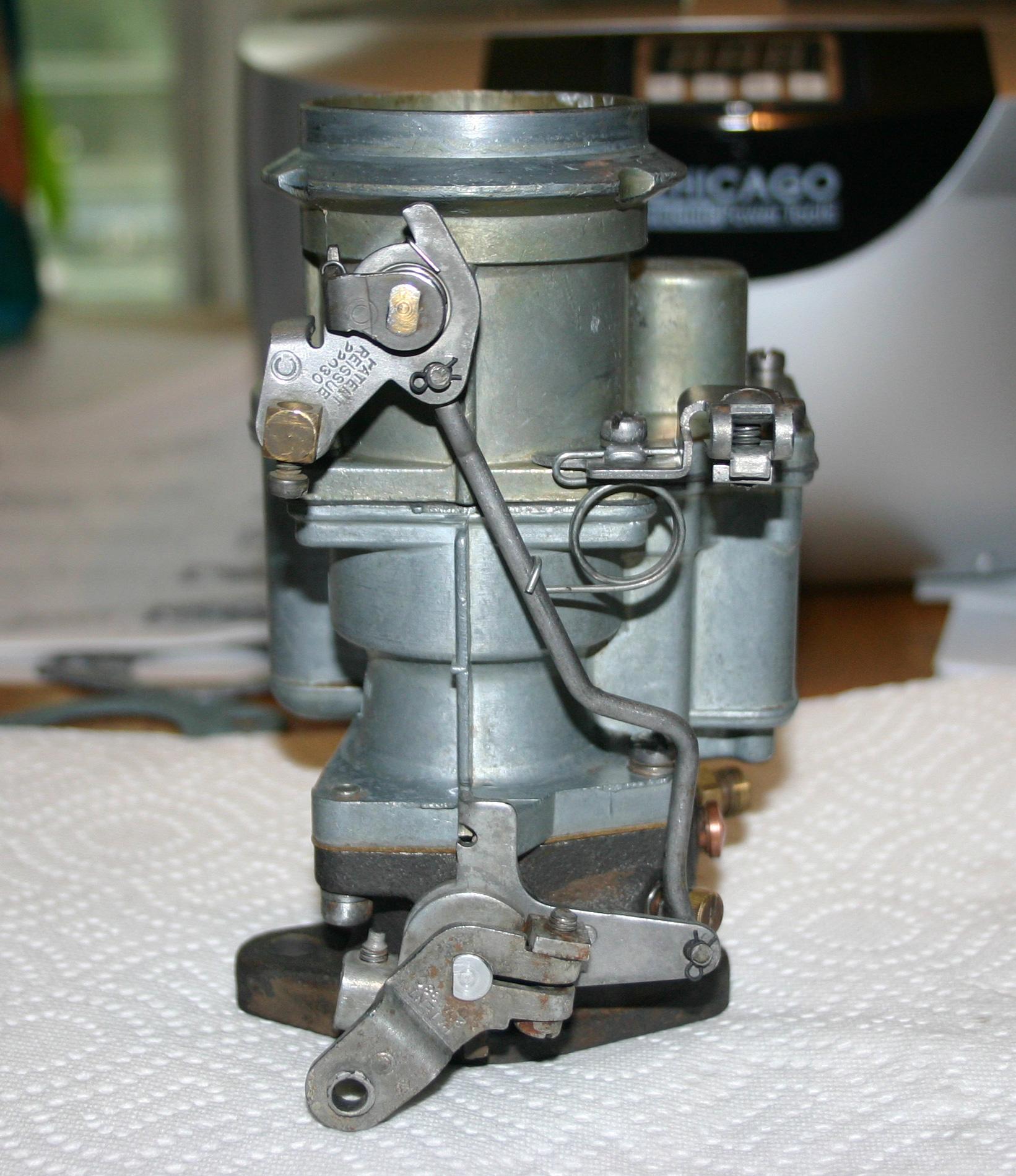 Restoring Cornelia Truck Facts Carter Yf Carburetor