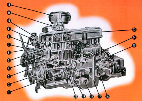 Silver Diamond 220 Engine